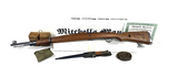 New Collector Grade Model 48A Mitchell's Mauser 8mm Bolt Action Rifle in Box