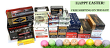 EASTER SPECIAL! NEW 2,665 ROUNDS OF ASSORTED AMMUNITION - FREE SHIPPING