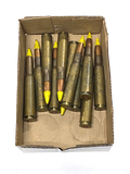 11rds. Dominican Republic AP Yellow Tip 50 BMG Ammunition