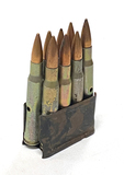 8rds. Collectible .30-06 SPRG. Steel Case Dummy Rounds in Enbloc Clip