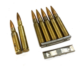 5rds. of 8x57mm Mauser, (1).30-06 SPRG, (1) 7.62x51mm NATO