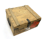 Sealed Wood Crate of 912rds. 7.62x54R Czech 46gr. Hollow Core/Low Recoil Ammunition