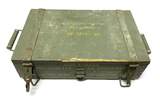 Original Empty Wooden Yugoslavian M67 7.62x39mm Ammunition Crate