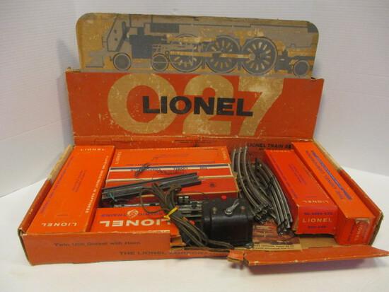 Lionel Train Set No. 1637W & Pickle Car