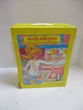 Tara Toy Soda Shoppe Doll Carrying Case With Miscellaneous Dolls