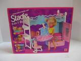 Mattel Stacie 3-In-1 Bunk Bed