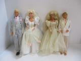 Barbie And Ken In Wedding Attire