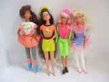 Four Barbie And Friends In Sporty Attire