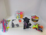 Ken Police And Construction Uniforms & Shoes.  Barbie Accessories