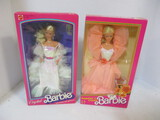 1983 Crystal Barbie And 1984 Peaches 'n Cream Barbie