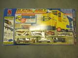 Life-Like Trains Blazing Rails Boxed Set