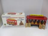 Holgate Toy Company Mister Rogers' Neighborhood Trolley