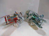 Handcrafted Pepsi And Sprite Soda Can Whirligigs