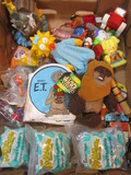 Mixed Lot Of Toys:  ET Bath Book, Star Wars Wicket the Ewok Plush,