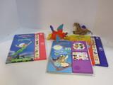 Disney Golden Sound Aladdin And Peter Pan Storybooks,