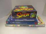 Checkers, Chinese Checkers, And Sorry Board Games.