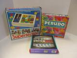 Superflection, Perudo, & Switchback Games