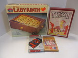 Pavilion Labyrinth, Twixt, Match 4, And Parcheesi Games