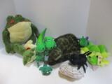 Dinosaurs, Reptiles, And Amphibian Plush