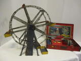 Gilbert Partially Assembled Ferris Wheel Erector Set And
