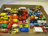 Die Cast Cars By Hot Wheels, 1 Matchbox, 3 Tonka, 1 Majorette,