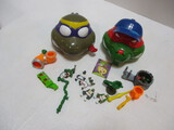 Playmates Toys Teenage Mutant Ninja Turtle Micro Playsets