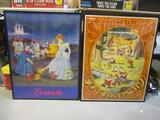 Walt Disney's Cinderella & Snow White 50th Anniversary Movie Posters