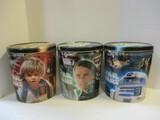 Set Of 3 Frito-Lay Star Wars Character Tins