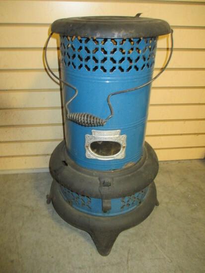 Antique Ez-Est-Way Smokeless Oil Heater