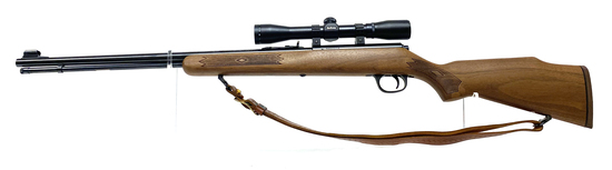 Excellent Marlin Firearms Co. Model 881 .22 LR Bolt Action Rifle w/ Scope & Sling