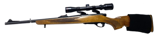 Remington Mohawk-600 .243 WIN. Bolt Action Rifle with Scope
