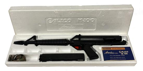 LNIB American Industries Calico M-100 .22 LR Semi-Automatic Carbine