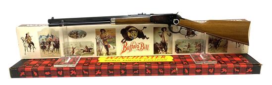 NIB Winchester Model 94 .30-30 WIN. Buffalo Bill Commemorative Lever Action Saddle Ring Carbine