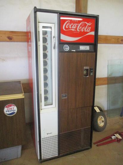 Vintage The Venas Co. Coca-Cola Pull Bottle Vending Machine