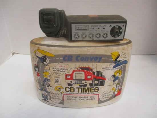 "1976 Heritage China Ezra Brooks CB Times ""Convoy"" Decanter"