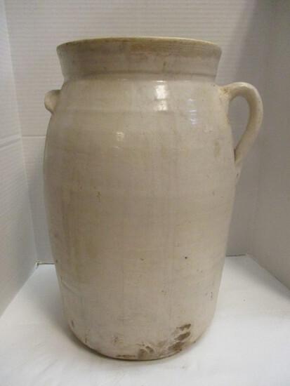 Single-Handled Pottery Churn With Tilt Handle