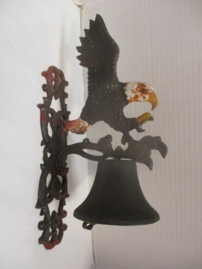 Iron Wall-Mount Eagle Bell