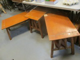 3-Piece Accent Table Set:  Small Coffee Table & 2 End Tables