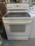 GE Flat-Top Electric Stove/Oven With Storage Drawer