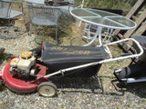 Snapper Push Mower With Bagger