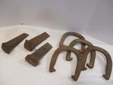 2 Double Ringer & 2 Royal Horseshoes, 3 Heavy Spikes