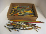 Advertising And Souvenir Pen And Pencil Collection:  Including Auto Parts,