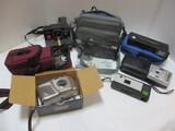 Camera Lot:  Time-Zero One Step, Kodak Advantix, Bell-Howell,