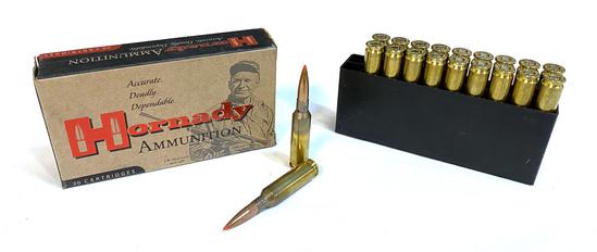 NIB 20rds. of 6.5 CREEDMOOR Hornady MATCH 140gr. A-MAX Ammunition