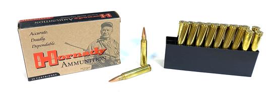 NIB 20rds. of .300 WIN. MAG. Hornady MATCH 195gr. BTHP Ammunition