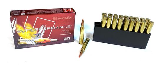 NIB 20rds. of .300 WIN. MAG. Hornady Superformance 180gr. SST Ammunition