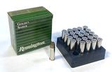NIB 25rds. of .38 SPECIAL (+P) Remington Golden Saber HPJ 125gr. Brass JHP Defense Ammunition