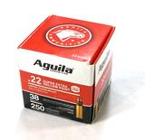 NIB 250rds. of .22 LR Aguila Super Extra Hollow Point CP 38gr. Ammunition