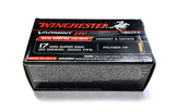 NIB 50rds. of 17 HMR Winchester Varmint HV 20gr. Polymer Tip Ammunition
