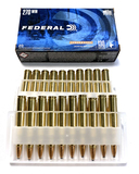 NIB 20rds. of .270 WIN. Federal Power-Shok 130gr. Jacketed SP Ammunition